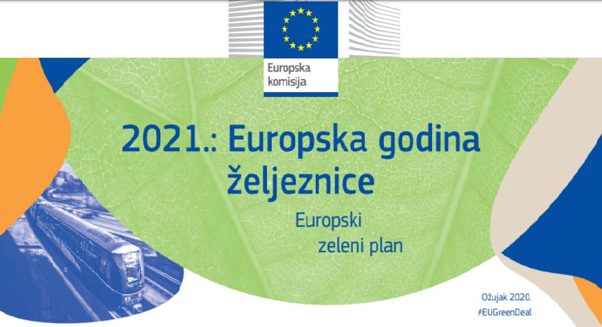 2021. – Europska godina željeznice